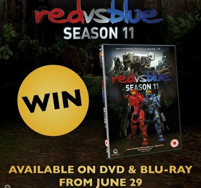 Win Red Vs Blue Season 11 On DVD