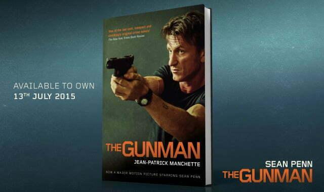 Win The Gunman On DVD Plus Novel