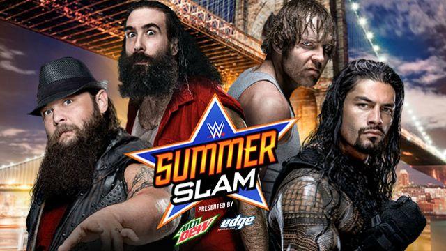 Summerslam -Bray-Wyatt-Luke-Harper-Dean-Ambrose-Roman-Reigns