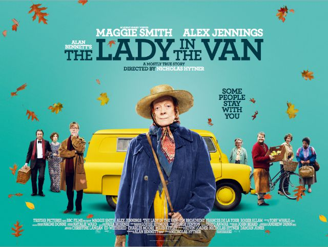 Lady In The Van-uk-poster
