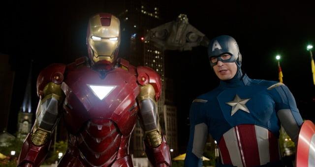 Captain America - Iron Man