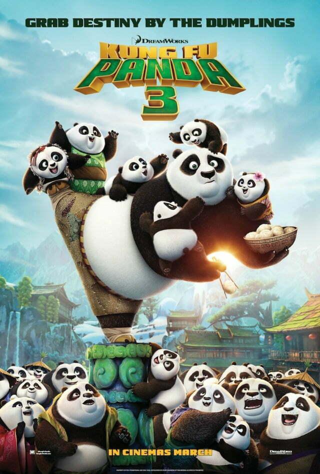 Kung Fu Panda 3Poster