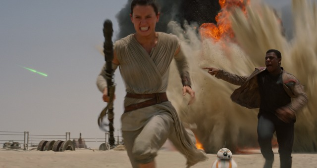 Star Wars: The Force Awakens Officially UK 2015 Top Film