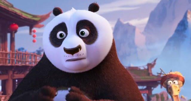 Po Meets Kai In New Kung Fu Panda 3 Clips