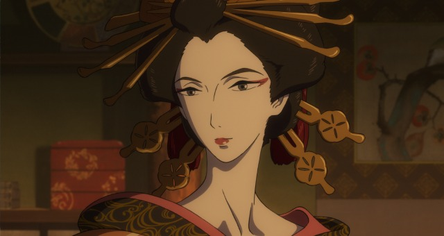 Win Miss Hokusai Anime Poster