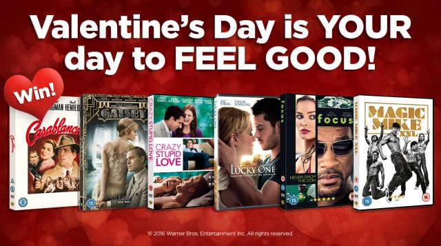 Win Ultimate Valentine's Day Date Night DVD Pack