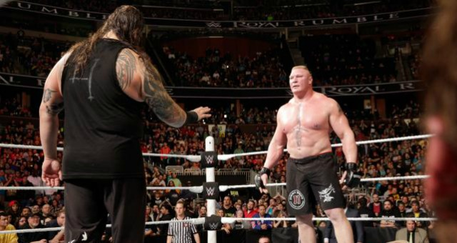 royal rumble brock lesnar