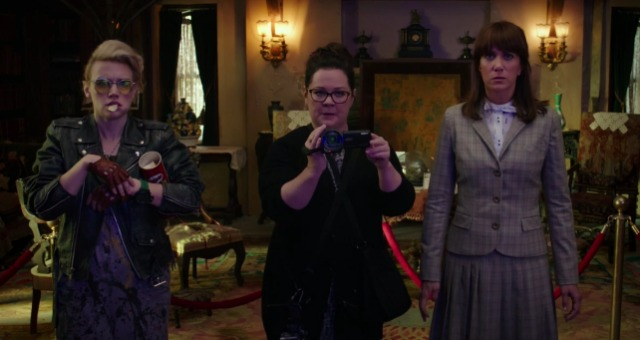 These Ladies Ain't Afraid Of Ghosts, Ghostbusters First Trailer is Here!