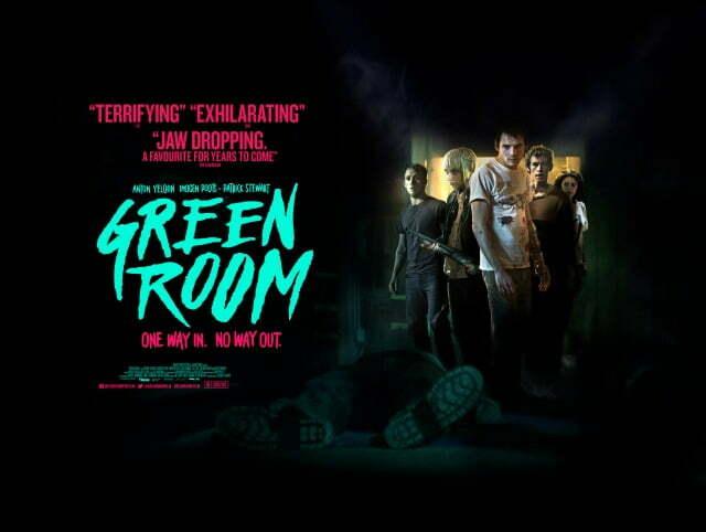 Green Room UK Poster