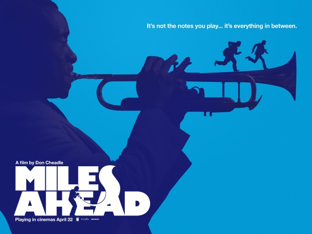 Miles Ahead Poster Blue