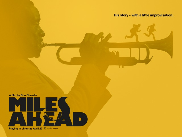 Miles Ahead Yellow Poster