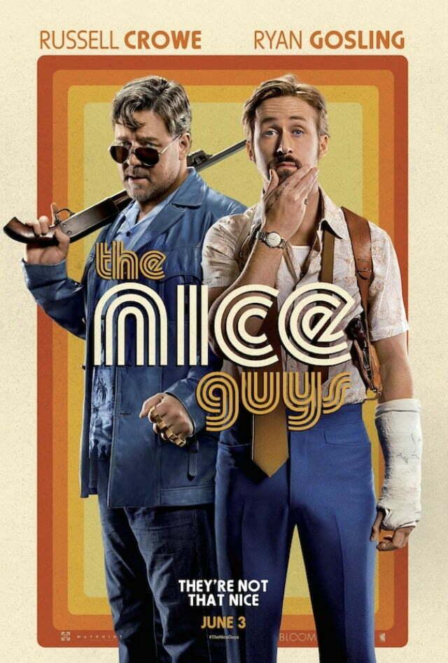 the nice guys UK Poster