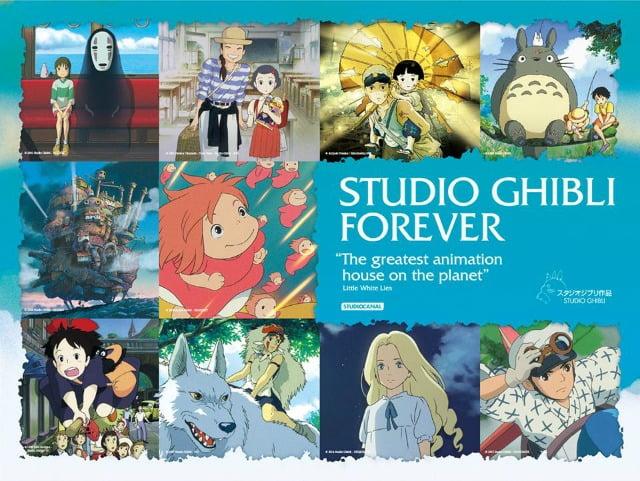 Studio Ghibli Forever Poster