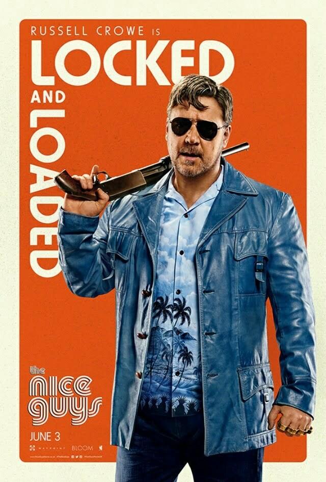 The Nice Guys Crowe Poster