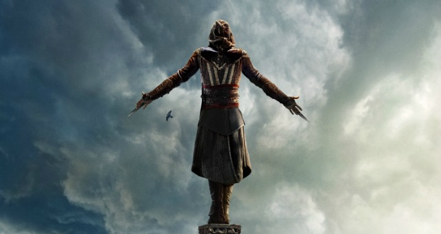New Assassin's Creed Poster Takes Michael Fassbender To New Heights