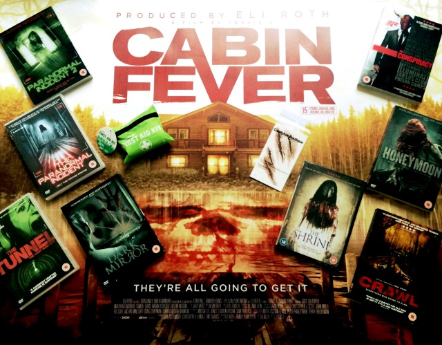CABIN FEVER prize package