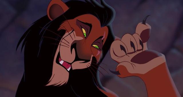 Scar- Lion King
