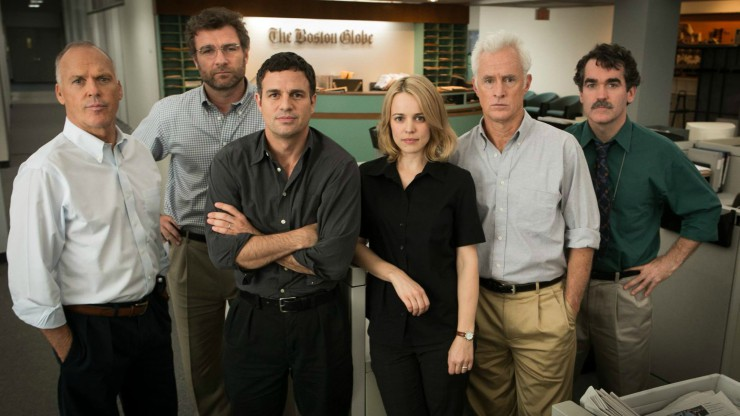 DVD Review – Spotlight (2016)