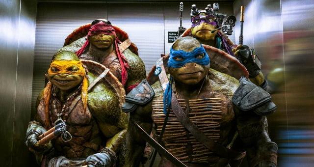Teenage Ninja Turtles Out Of The Shadows 'Lift'