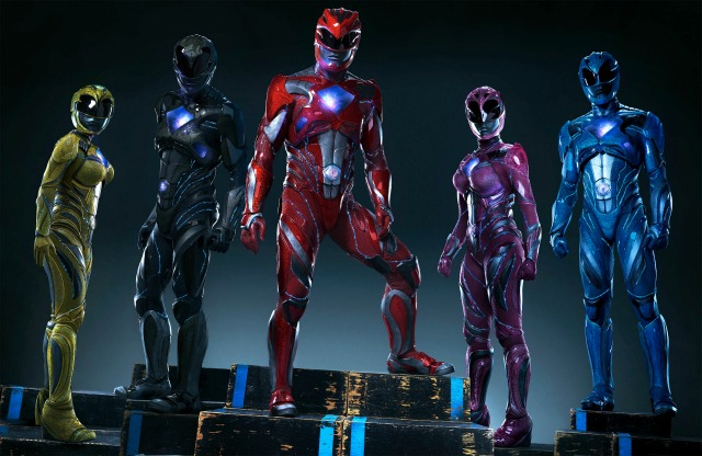 New Suits Revealed For The Power Rangers Reboot