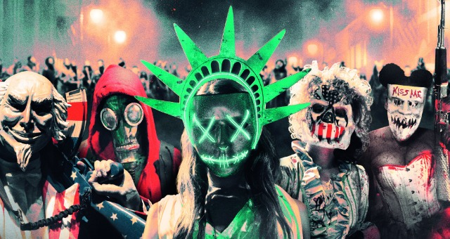 The Purge:Election Year New Trailer Keeps America Great