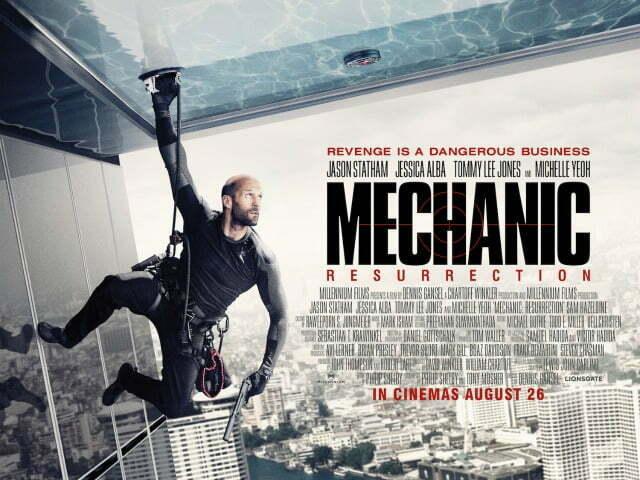 Mechanic 2Resurrection Poster UK