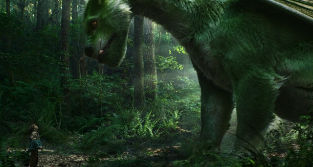 The Giant Green Guy Flies In New Pete's Dragon Trailer