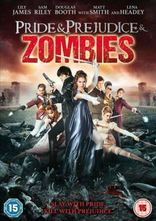 Pride&Prejudice&Zombies DVD