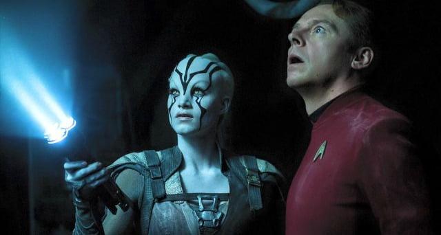 Scotty Meets Jaylah In New Star Trek Beyond Clips