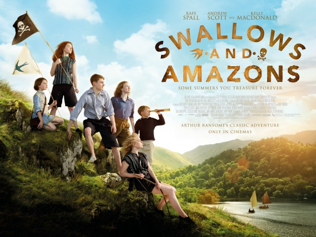 Swallows And Amazons Poster UK Quad