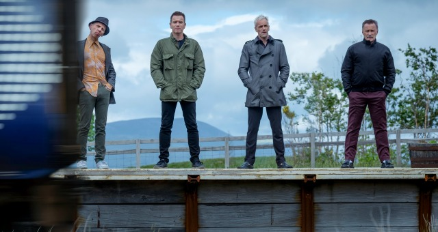 The cast and director of T2 Trainspotting talking to Empire magazine