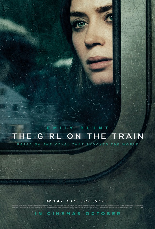 The Girl On The Train Poster UK