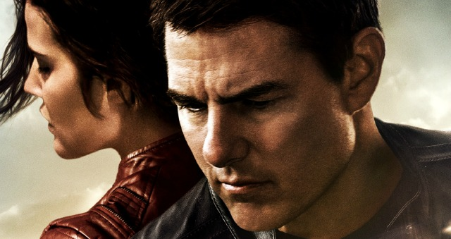 Tom Cruise Looks 'Moody' In New Jack Reacher: Never Go Back Poster