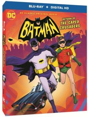 Batman Return of the caped crusaders BD