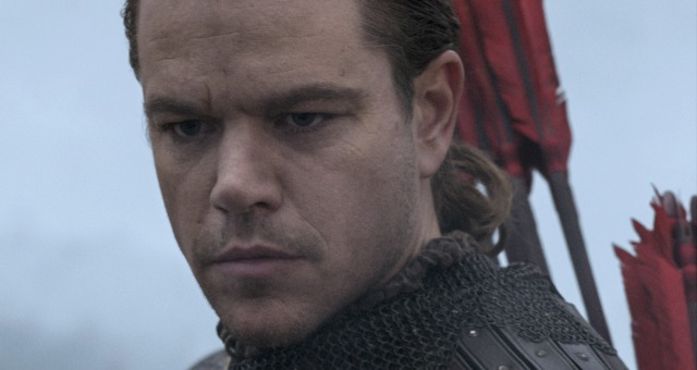 New Motion Posters For The Great Wall Starring Matt Damon