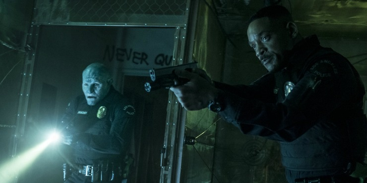 New Netflix Bright Poster Will Smith And Joel Edgerton  Are 'Bad Boys'