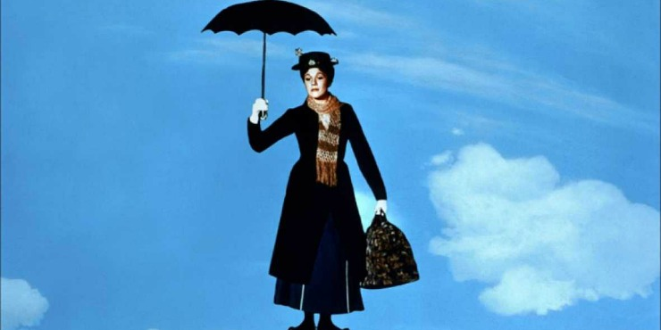 First Look At Emily Blunt  In Mary Poppins Returns