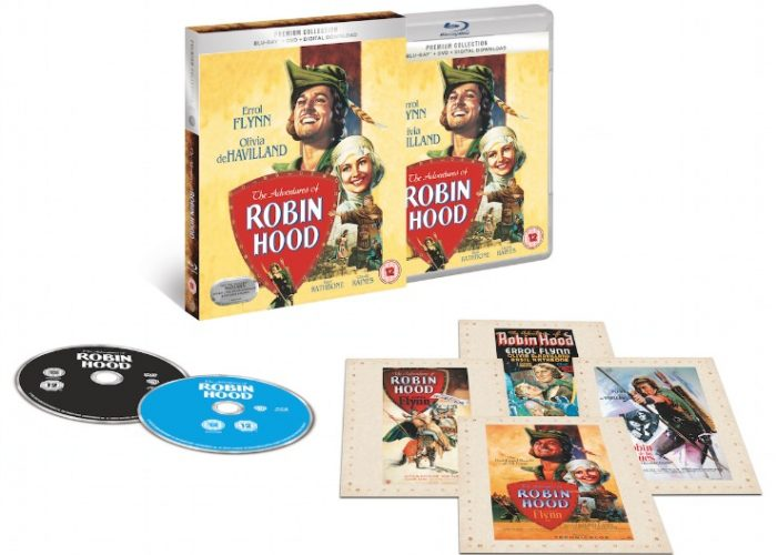 Win The Adventures of Robin Hood On Blu-ray
