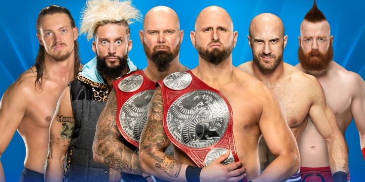 Wrestlemania 33 Match Preview: The Club VS Enzo Amore & Big Cass VS Sheamus & Cesaro Ladder Match For the WWE Raw Tag Team Championships