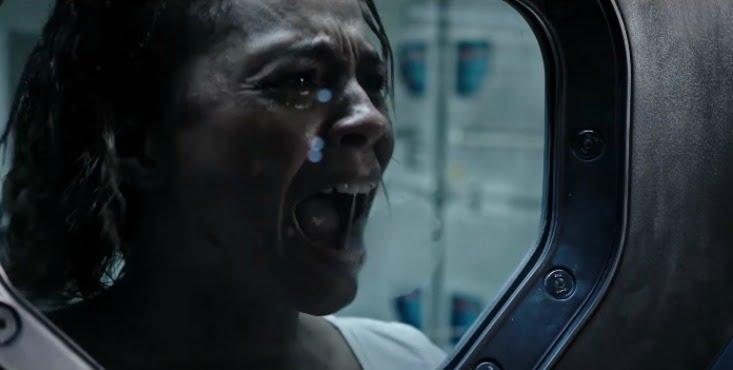 No One Can Hear You Scream In Creepy Alien: Covenant Clip