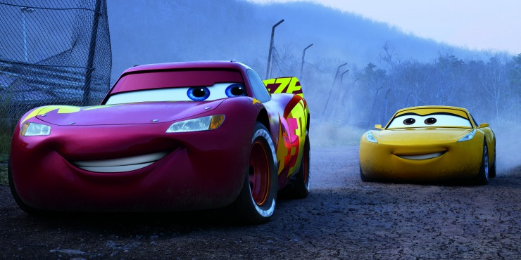 New Cars 3 UK Trailer Tease Lightning McQueen V Jackson Storm Rivalry