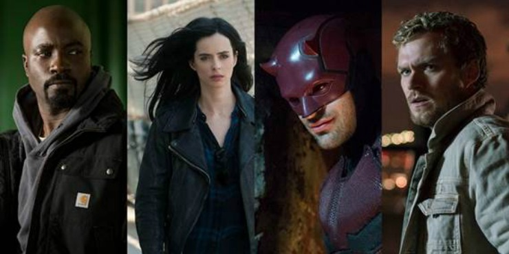 The Gang Are Finally Together In First Marvel's Defenders Trailer