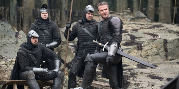 David Beckham Attempts To Act In New King Arthur: Legend Of The Sword Clip