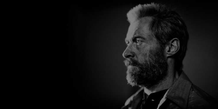 Watch The Amazingly Sombre  Logan Black And White Noir Trailer