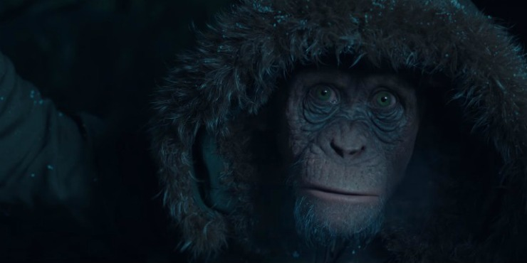 Meet 'Bad Ape' In New War For The Planet Of The Apes Clip