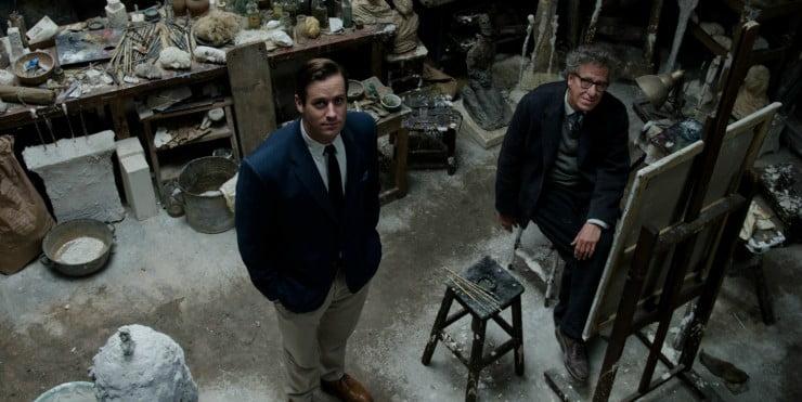 Strike A Pose Armie In Stanley Tucci's Final Portrait UK Trailer