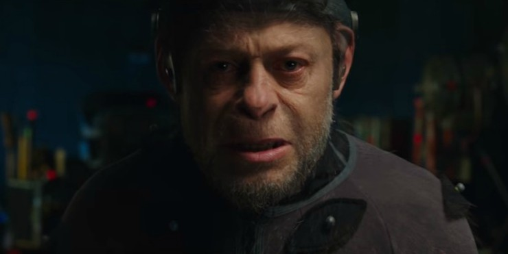 Watch Andy Serkis Become Caesar In War For The Planet Of The Apes Promo
