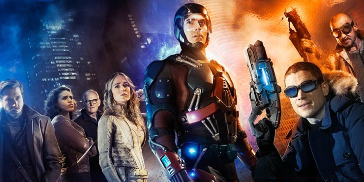 WIN DC'S LEGENDS OF TOMORROW SEASON 2 ON BLU-RAY™