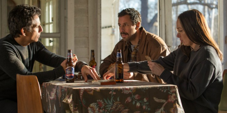 In The Meyerowitz Stories Trailer, Adam Sandler Plays The Piano, Gets Punched