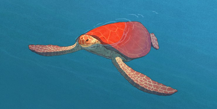 Win The Studio Ghibli Co-Produced The Red Turtle On Blu-Ray